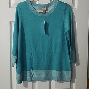 NWT Womens Chico's Sweater